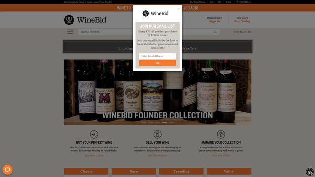 New Winebid LLC