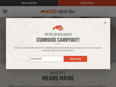 Mason's Lobster Franchising, LLC