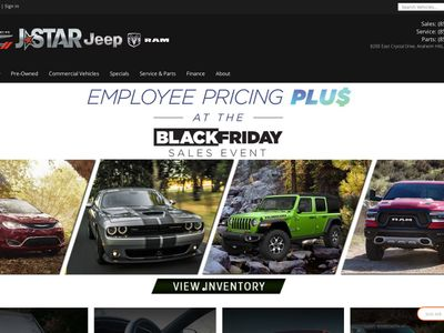 JStar Chrysler Dodge Jeep Ram of Anaheim Hills