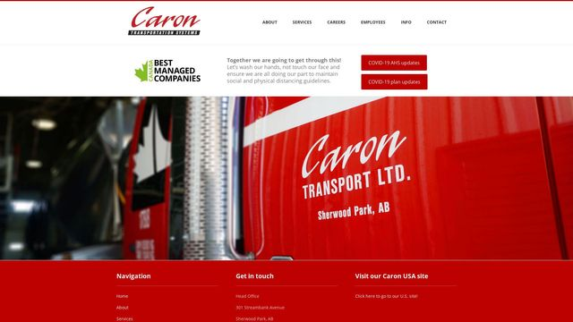 Caron Transport Ltd.