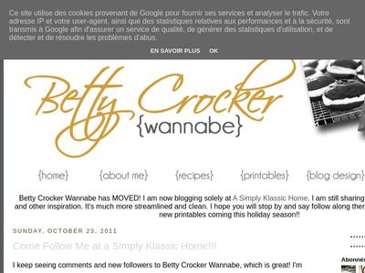 Betty Crocker Wannabe