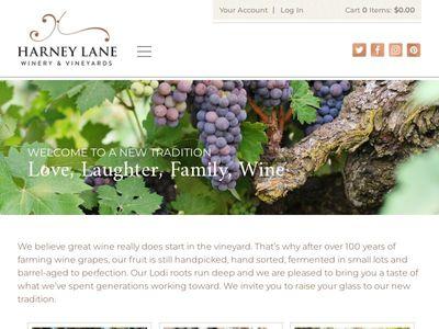 Harney Lane Winery & Vineyards