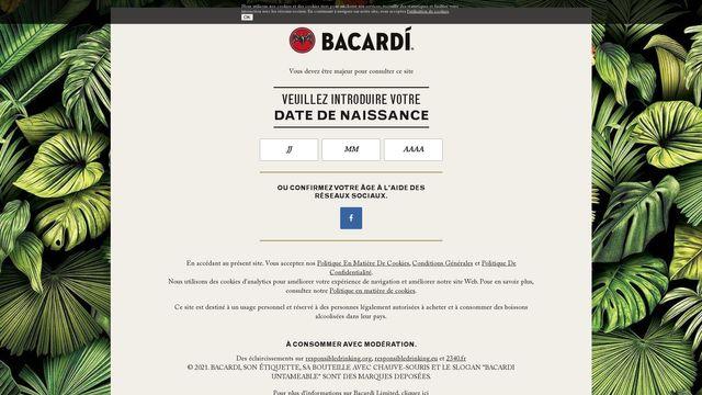 BACARDI & COMPANY LIMITED.