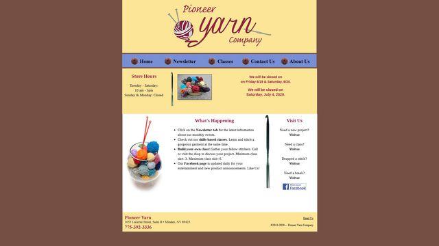 Pioneer Yarn Company