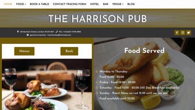 The Harrison Pub