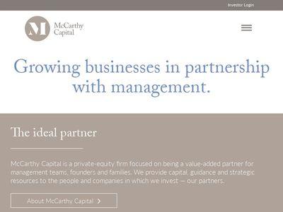 McCarthy Capital Corporation