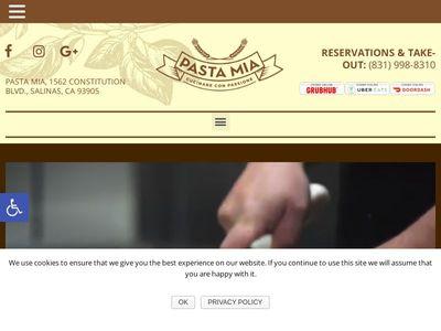 Pasta Mia Restaurant