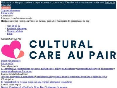 Cultural Care, Inc.