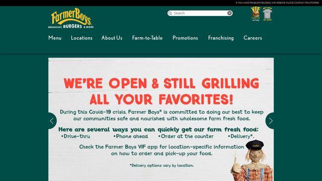 Farmer Boys Franchising Co.
