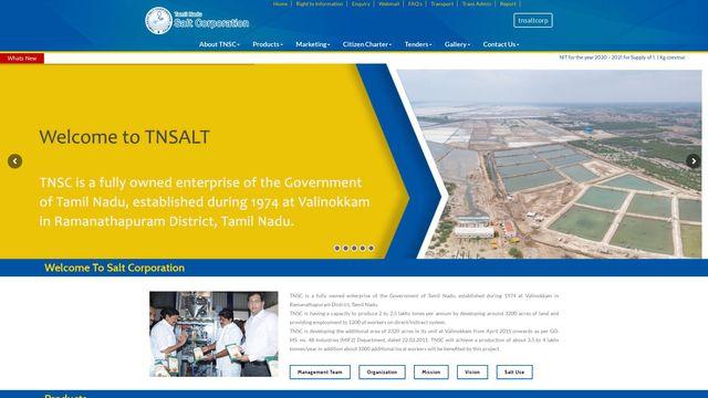 TAMIL NADU SALT CORPORATION LIMITED