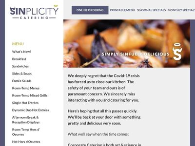 Sinplicity Catering