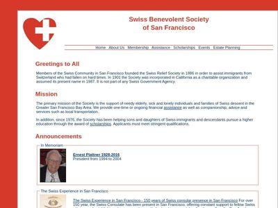 Swiss Benevolent Society