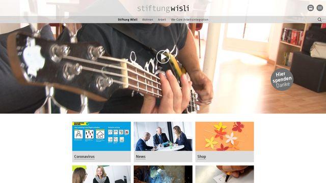 Stiftung Wisli / We-Care Arbeitsintegration