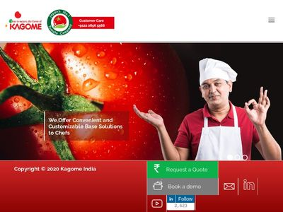 Kagome Foods India Pvt Ltd.