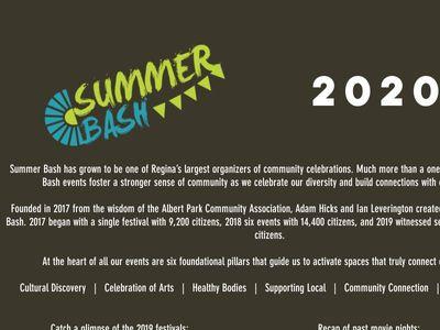 Summer Bash YQR