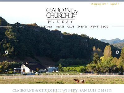 Claiborne & Churchill Vintners
