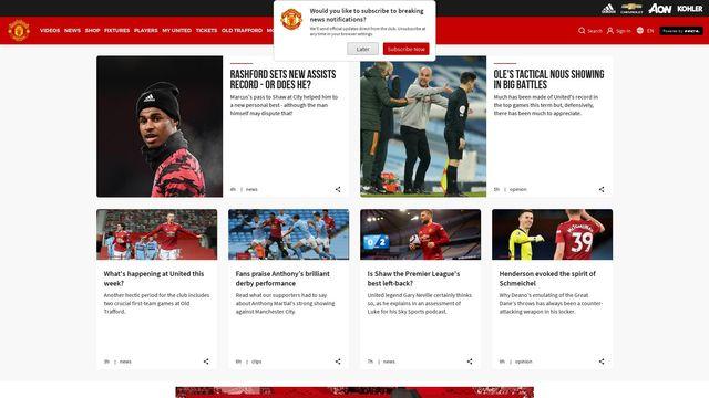 Manchester United FC Ltd