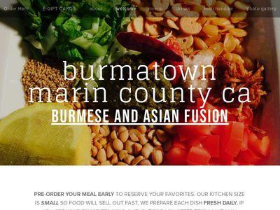 burmatown marin county ca