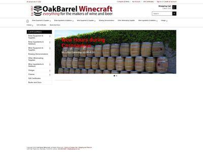 Oak Barrel Winecraft