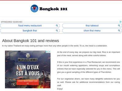 Bangkok 101