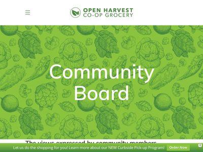 Open Harvest Co-op Grocery