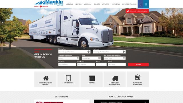 Mackie Moving Systems Corporation