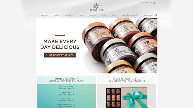 Fran's Chocolates, Ltd.