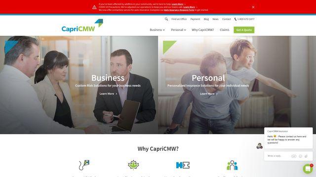 CapriCMW Insurance Services Ltd.