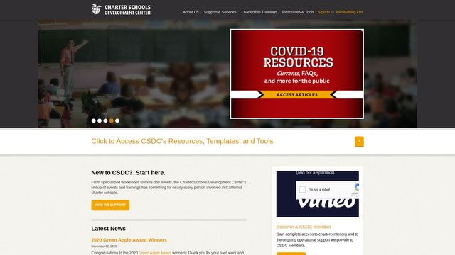 Charter Schools Development Center