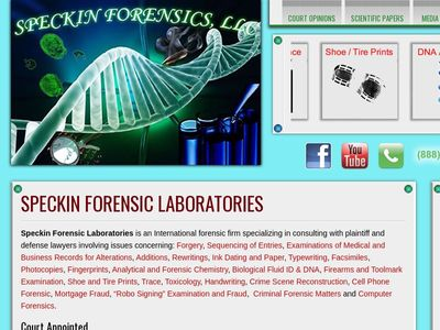 Speckin Forensic Laboratories LLC