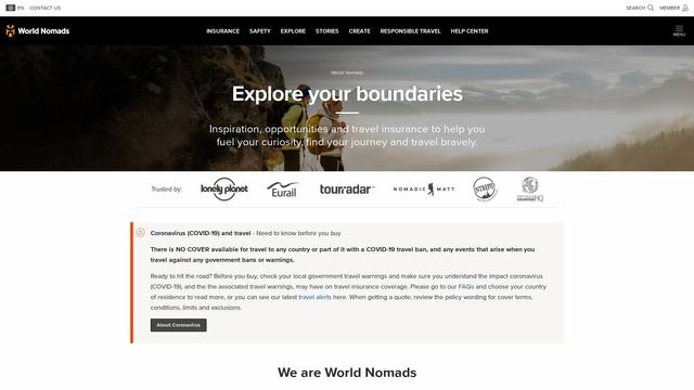 WorldNomads.com Pty Limited