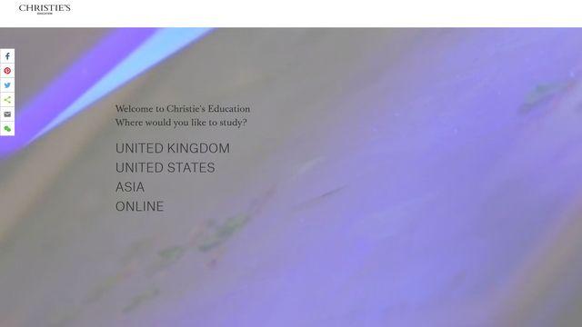 Christie Manson & Woods Limited