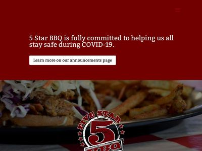 5 Star BBQ & Catering Company