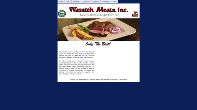 Wasatch Meats, Inc.