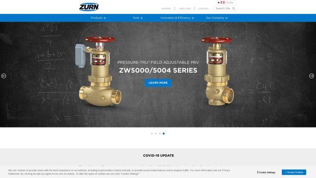 Zurn Industries, Limited.