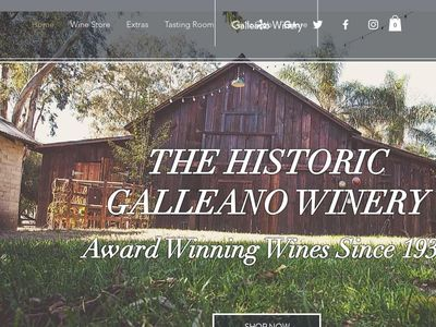 GALLEANO WINERY, INC.