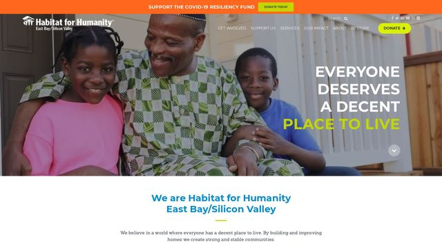 Habitat for Humanity East Bay/Silicon Valley, Inc.