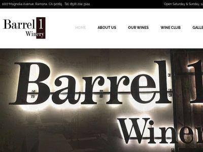 Barrel 1 Winery