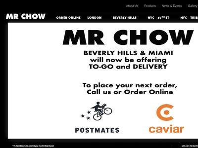 Mr Chow Enterprises, Ltd.