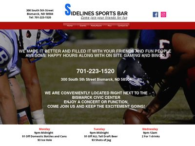 S IDELINES SPORTS BAR