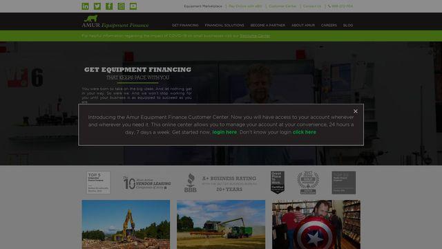 Amur Equipment Finance, Inc.
