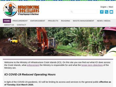 Infrastructure Cook Islands