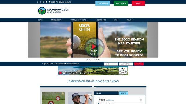 The Colorado Golf Association, Inc.