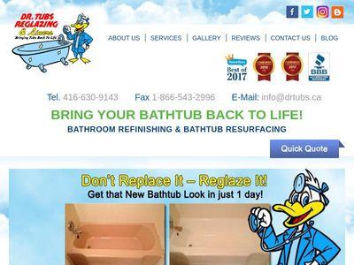 Dr. Tubs Reglazing