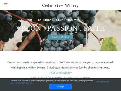 Cedar View Winery