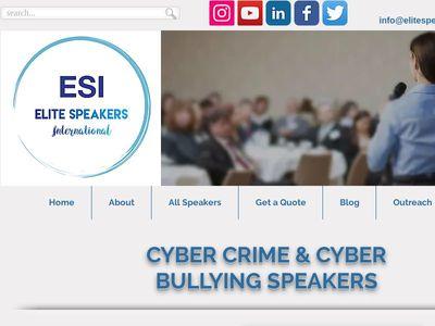 The Elite Speakers Bureau, Inc.)