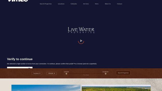 Live Water Properties, LLC