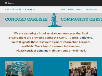 Concord-Carlisle Community Chest