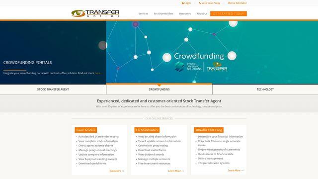Transfer Online, Inc.