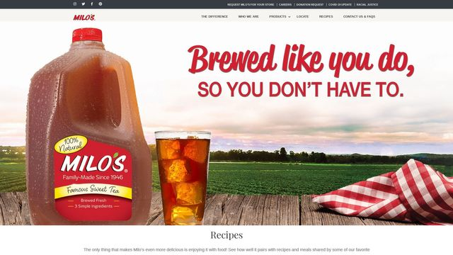 Milo's Tea Company, Inc.
